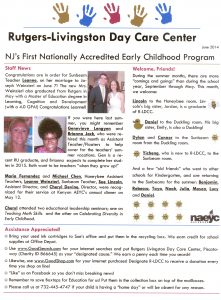 June 2014 Newsletter