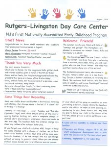 R-LDCC Newsletter August 2014