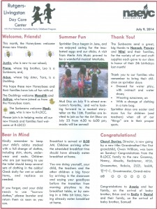 July 2014 R-LDCC Newsletter