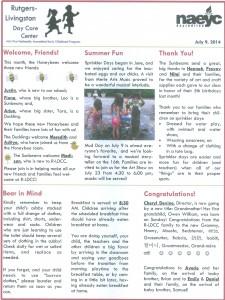 July 2014 R-LDCC Newsletter